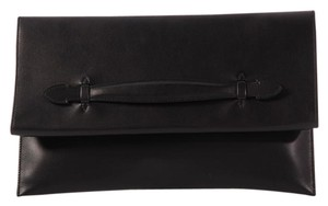 Hermès Hr.k0923.10 Box Leather Large Clutch