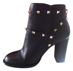 Valentino Studded Leather Never Worn Black Boots