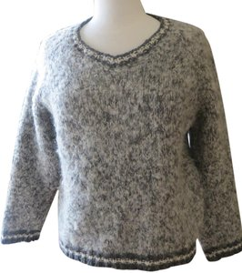 Free People Alpine Wool Crochet Sweater