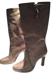 Prada Leather Taupe Boots