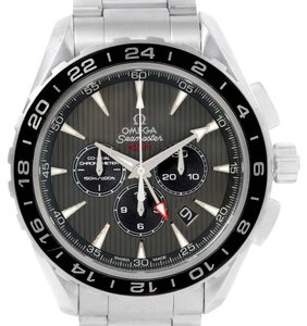 Omega Omega Seamaster Aqua Terra GMT Watch 231.10.44.52.06.001 Box Papers
