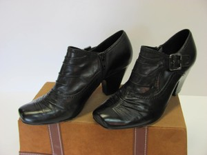 Maripé Brand New Leather Size 8.00 M Excellent Condition Black Boots