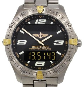 Breitling Breitling F65062 Two Tone Aerospace Titanium Gents Watch