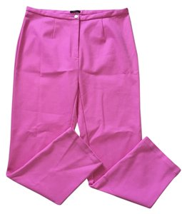 Raoul Straight Pants Hot pink