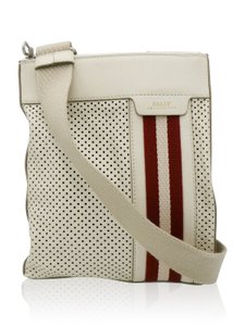 Bally Cream/Red Messenger Bag