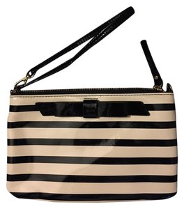 Kate Spade Kate Spade Lolly Chelsea Park Patent Leather Striped Wristlet
