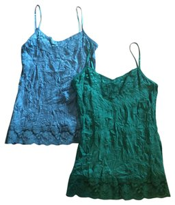 Maurices Top Blue, Green