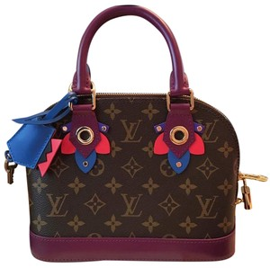 Louis Vuitton Limited Edition Alma Cross Body Bag