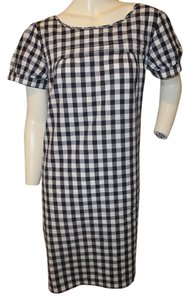 J.Crew short dress Gingham Size 8 on Tradesy