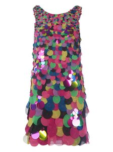 Diane von Furstenberg Party Sequin Dress