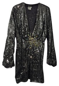 Jovani Sequined Beaded Jewels Dress