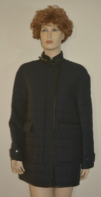 Burberry Shearling Shearling Leather Coat Image 1