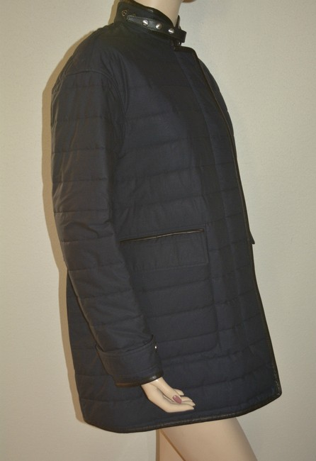 Burberry Shearling Shearling Leather Coat Image 2