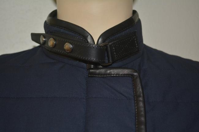 Burberry Shearling Shearling Leather Coat Image 3