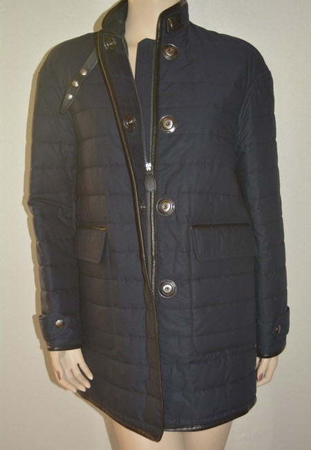Burberry Shearling Shearling Leather Coat Image 4