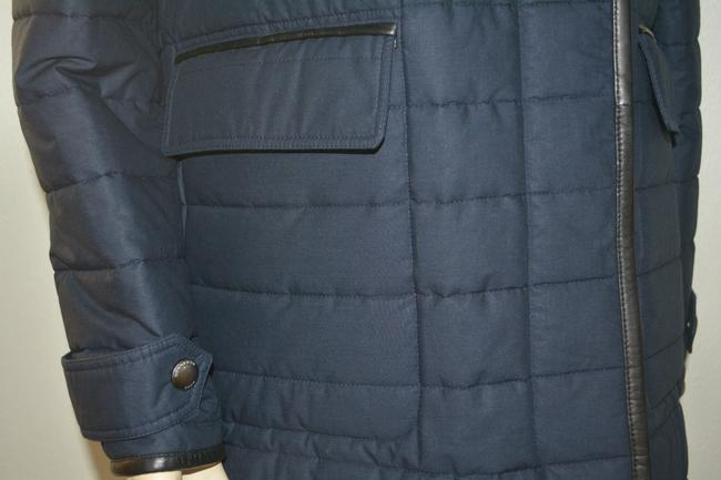 Burberry Shearling Shearling Leather Coat Image 5