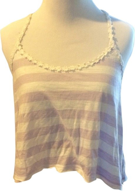 abercrombie kids Top Pink & White