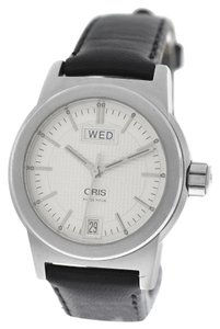 Oris Mens Unisex Oris 7501 Big Crown Day Date Stainless Steel 34MM