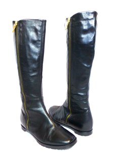 Claudia Ciuti Leather Black Boots