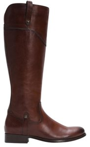 Frye Melissa Tab Knee Redwood Boots