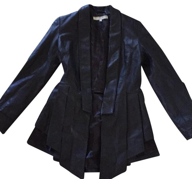 What Goes Around Comes Around Black Rn#129046 Jacket Size 6 (S) What Goes Around Comes Around Black Rn#129046 Jacket Size 6 (S) Image 1