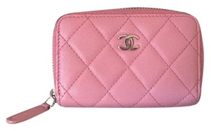 Chanel Chanel Pink Zippy Card Holder