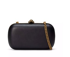 Gucci New Soho Tiger Black Clutch