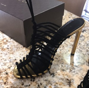 Gucci Black and Gold Formal