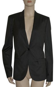 Burberry Wool Silk Dark Charcoal Jacket