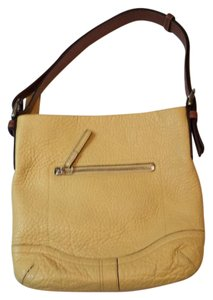 Coach Yellow Messenger Bag