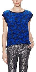 Diane von Furstenberg Top Multi Blue