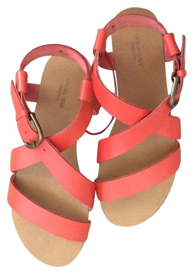 Good Prices new product premium selection Red/Rouge (Coral) Sandals
