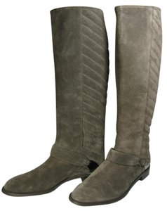 Stuart Weitzman Suede Knee-high Brown Riding brown taupe Boots