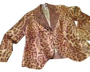 LOOK Jacket Silky Leopard brown/black/gold multi Blazer