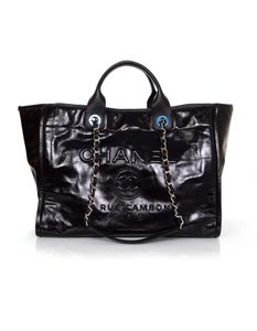 Chanel Deauville Tote Shoulder Bag