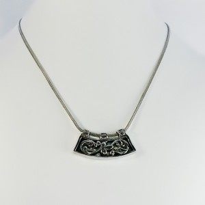 Silpada Retired Silpada Sterling Silver Filigree Pendant 18