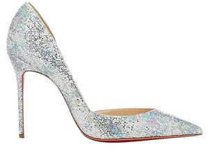 Christian Louboutin Classics Silver / Multi-Color Pumps
