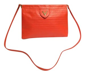 Mario Valentino Valentino Leather Vintage Cross Body Bag
