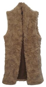 Trouvé Faux Fur Fur Long Faur Fur Vest