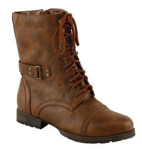 Red Circle Footwear Cognac Boots