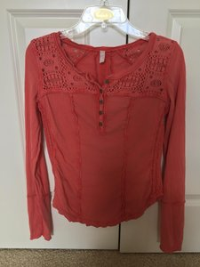 Free People T Shirt Dusty pink