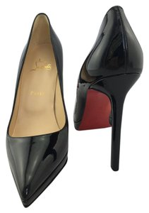 Christian Louboutin Red Bottoms Pigalle Black Pumps