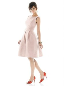 Alfred Sung Pearl Pink Alfred Sung Style D448 Dress