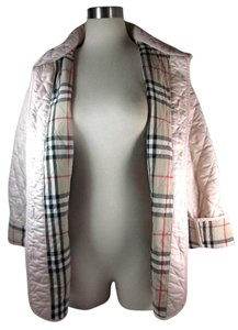 Burberry Nova Check Pink Jacket