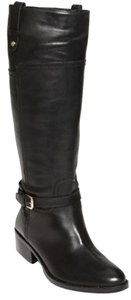 Ivanka Trump Equestrian Leather Black Boots