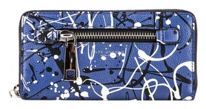Marc Jacobs * Marc Jacobs Coblat Blue Multi Wallet