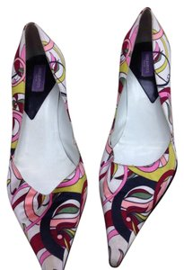 Emilio Pucci Multi colors Pumps