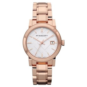 Burberry Burberry Classic Check BU9104 The City Rose Gold Stainless Watch