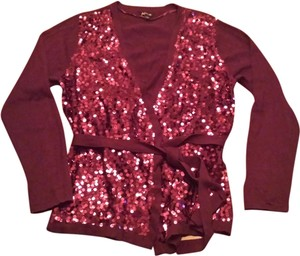 Apt. 9 Sweater Sparkle Sequin Wrap Sweatshirt