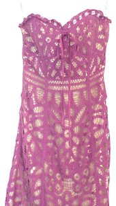 Betsey Johnson short dress Purple on Tradesy